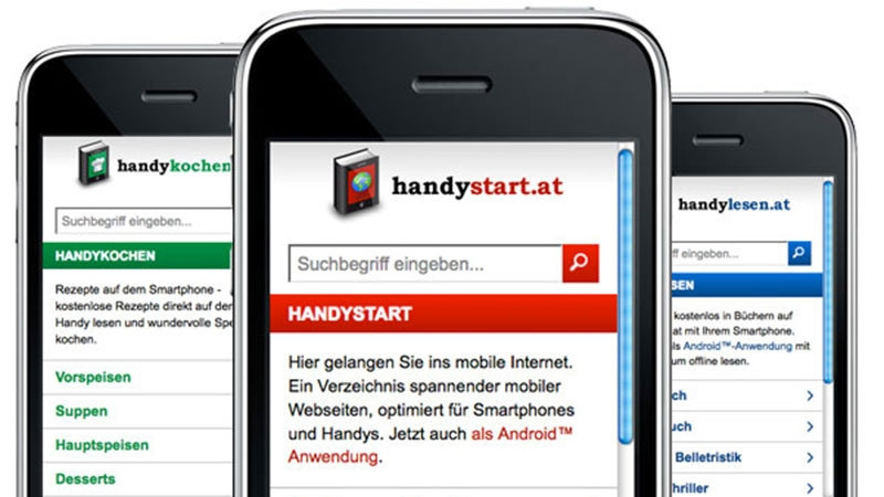 Handywhatever... Webseiten für Smartphones © echonet communication